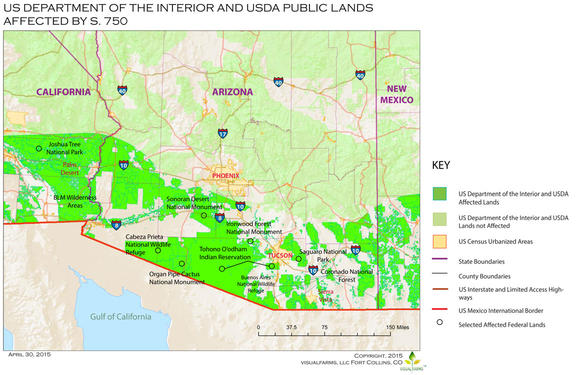 federal lands opened to additional border security activities s www aclu