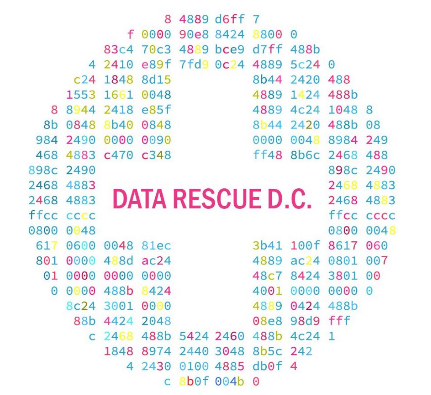 datarescueDC brought together 200 librarians, scientists, coders, and concerned citizens to archive at risk EPA data and websites. https://datarefuge.github.io/datarescue-dc/
