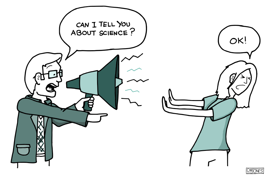 SCIENCE, OK!? From https://www.ratbotcomics.com/comics/pgrc_2014/1/1.html